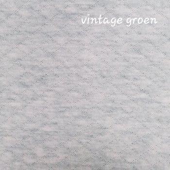 dusty groen melee wafeltjes gevoerde tricot