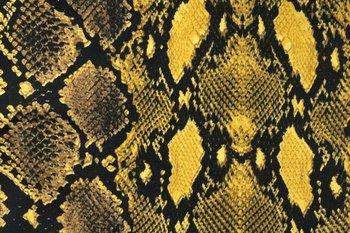 geel zwart wit slang python - tricot