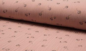 dusty roze paardenbloem pluisjes hydrofiel (op=op)