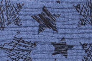 blauw jeans sterren hydrofiel