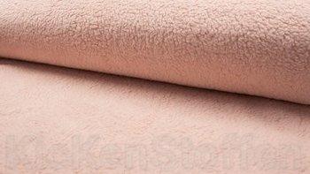 poeder roze teddy katoen / fur / borg