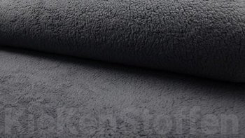 dark grey teddy cotton