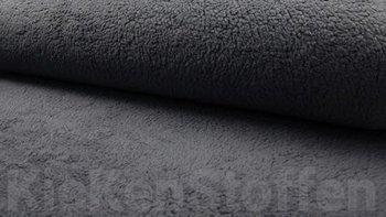 donker grijs teddy katoen / fur / borg