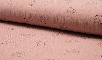dusty roze olifant hydrofiel (op=op)