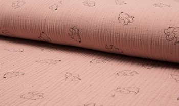 dusty roze olifant hydrofiel