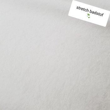 wit babybadstof (rekbaar)
