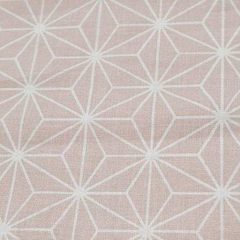 dusty roze geo figuur (op=op)