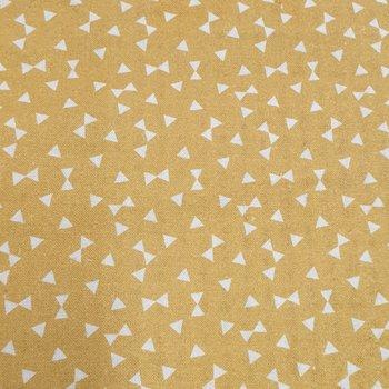 geel (soft oker) wit triangeltjes