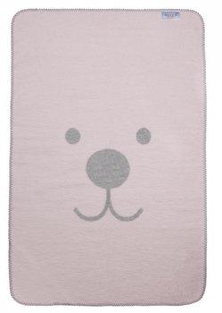 roze grijs ledikant deken snuitje