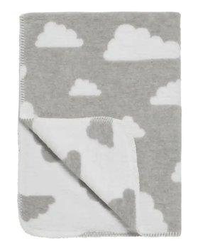 wit grijs wieg deken wolken