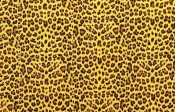 geel mosterd/oker luipaard hydrofiel