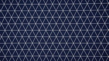 donker blauw wit driehoek lijnen - tricot