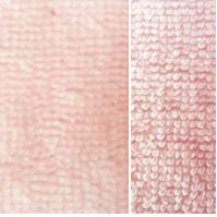 poeder roze (licht) bamboe katoen fleece