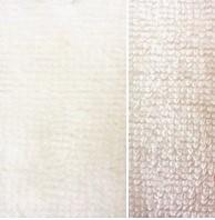 wit (off white) bamboe katoen fleece