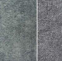 donker grijs bamboe katoen fleece