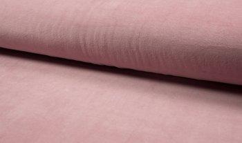 oud roze (licht) katoenen velvet