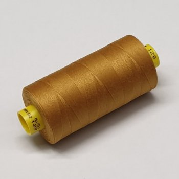 sewing thread ocher curry
