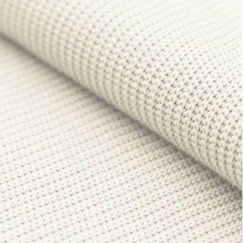 wit (off white) katoen gebreide stof