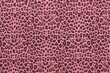 fuchsia roze cognac zwart luipaard hydrofiel (OP=OP)