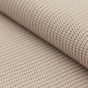 big knit cotton beige