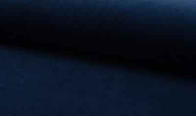 marine blauw katoenen velvet