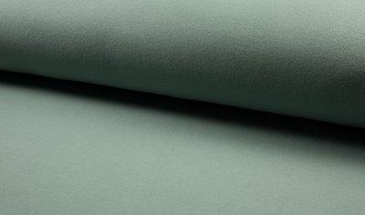 organic cotton fleece saffier groen