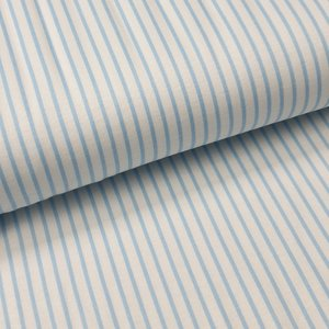 baby blauw streepjes  tricot