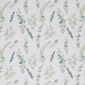 wit (off white) vintage groen eucalyptus takjes botanisch ...