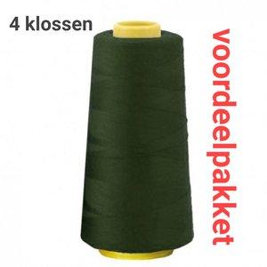 lock garen donker groen voordeelbundel