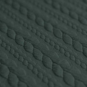 army groen kabel jacquard tricot