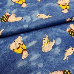 blauw geel gpolar beren