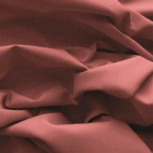 roze-terracotta uni poplin