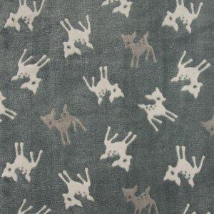 bambi knuffelfleece taupe donker