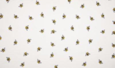 wit geel bijtjes