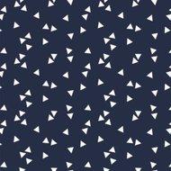 blauw wit triangel