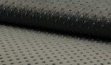 minky donker grijs