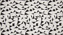 origami zwart wit