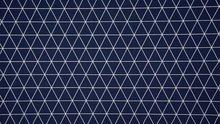 blauw wit driehoeklijnen
