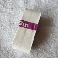 biaisband katoen 3cm ecru